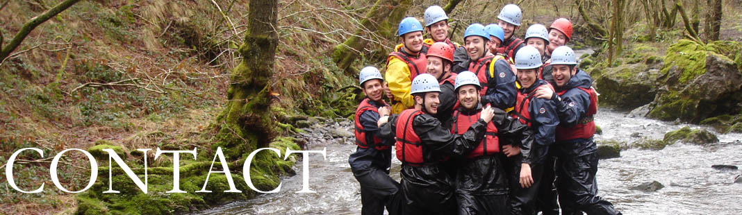 Contact Gorge Walking Wales