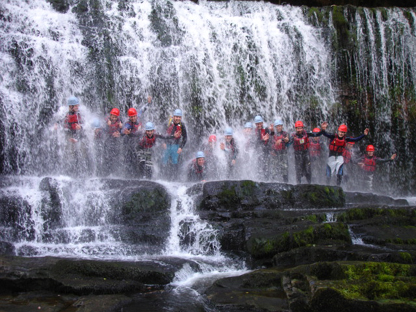 Gorge Scrambling Stag Party