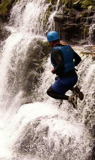 Gorge Walking Leap - This could be you.